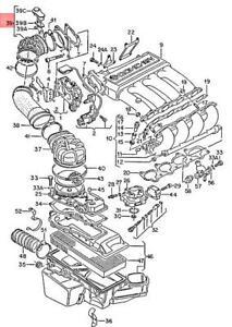 Genuine Volkswagen Connecting Hose NOS Corrado Golf Jetta Passat 1G 027133648