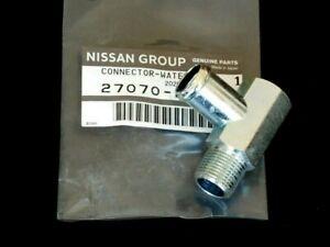 Datsun Nissan 510 610 710 D21 D22 200SX Water Heater Hose Elbow Connector OEM