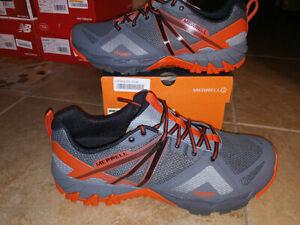 NEW Mens Merrell MQM Flex Trail Shoes, sz 13