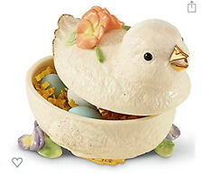 """Lenox American by Design """"Chick Candy Dish"""" New In Box"""
