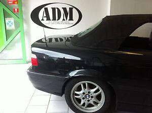 BMW E36 Cabrio Heckscheibe Fenster PVC  incl. Einbaukit 318 320 325 3er Flexgla