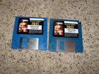 "Faces MS-DOS - 3.5"" floppy disks"