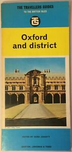 The Travellers Guides to the British Isles Oxford and District Sean Jennett 1965