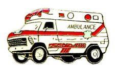 Ambulance Rescue Squad EMS EMT Fire Dept Gold Plated Cap Tac Lapel Pin New