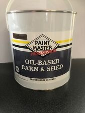 BROWN Barn And Shed,fence Paint 2.5LT Used By The Professionals