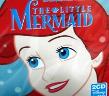 Disney, The Little Mermaid 2 CD set NEW! Sing a Long, Friends ,Childrens Music