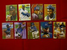 1994 TED WILLIAMS CARD CO GARDINER COLLECTION FULL 9 CARD SET - JETER & JORDAN