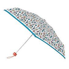 Totes Mini Rond Panther Avec Bordure Imprimé Parapluie 5 Section
