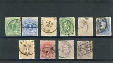 Belgium 1869-70 Scott# 28-36, 36a Canceled
