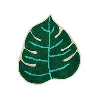 "Tropical Cushion Green Scandi Jungle Cheese Plant Leaf Sofa Case Cover 45cm 18/"""