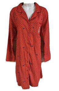 LAURA SCOTT XL FLEECE PAJAMAS PJS NWT RED REINDEER PANTS GRAY JERSY TOP WOMENS