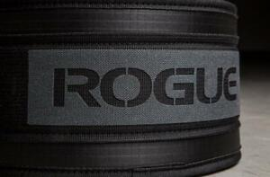 Upgraded Edition 2 New Rogue Weightlifting Weight Lifting Back Belt Black Large