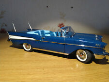 Danbury mint, 1957 Chevrolet Bel-air convertible, 1/24th diecast