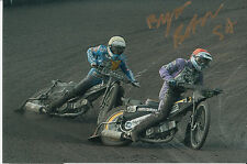BYRON BEKKER HAND SIGNED SCUNTHORPE SCORPIONS SPEEDWAY 6X4 PHOTO 2.