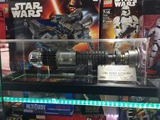 MASTER REPLICAS STAR WARS EPISODE IV ANH OBI-WAN LIGHTSABER WEATHERED LIMITED ED
