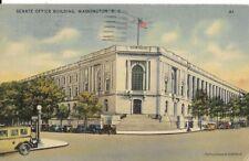 SENATE OFFICE BUILDING WASH DC POSTCARD DATED JULY 10 1945