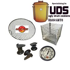 LavaLock UDS Parts Kit (complete) Build your own Ugly Drum Smoker 55 gal barrell