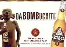 Bier Beer Azteca Da Bombuchitl - GoCard aus USA - selten und bestens erhalten