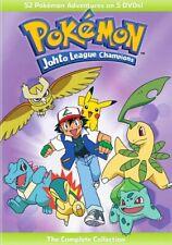 Pokemon: Johto League Champions The Complete Collection (DVD,2016) (vizd565104d)