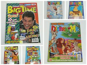 Disney and Me  Disney's Big Time Vintage 1997 UK Magazines with Gifts