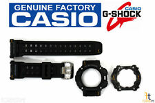CASIO G-Shock GW-9000 Black BAND & BEZEL (TOP & BOTTOM) Combo GW-9000A GW-9000Y