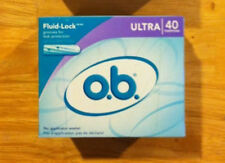 OB Ultra Tampons 40 ct Purple Fluid Lock US BRAND Very Hard to Find *FAST SHIP