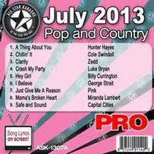 All Star Karaoke July 2013 Pop & Country ,Lambert ,Hayes, Ask1307A
