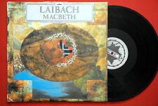 LAIBACH MACBETH RARE EXYUGOSLAV PRSS LP