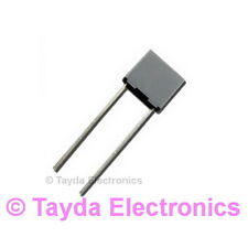 10 x 10nF 0.01uF 100V 5% Polyester Film Box Type Capacitor - FREE SHIPPING