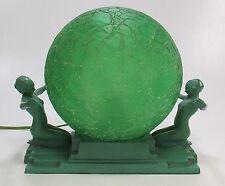 Original Art Deco FRANKART Model #230 Nude Table Lamp ca 1920's-30's Very Nice!