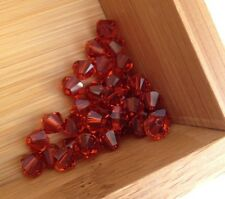 Indian Red color Swarovski Crystal Bicone Beads 5328 6mm 36 piece package