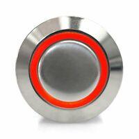 22mm Latching Billet Buttons hot rods KICSWBL22X truck custom muscle rat