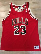 Michael Jordan #23 Chicago Bulls NBA Champion Jersey 52 XXL NWT NEW