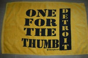 PITTSBURGH STEELERS  ONE FOR THE THUMB TERRIBLE TOWEL SUPER BOWL XL DETRIOT