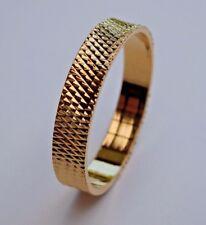 'SALE' 14k Yellow Gold Filled GF Women's/Men's Wedding Ring Band - Size 10