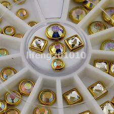 3D nail art glitter rhinestone wheel nails decoration accessoires supplies tools