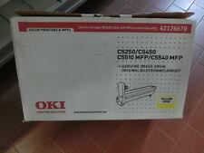 TAMBURO ORIGINALE OKI STAMPANTE C5250 C5450 C5510 MFP C5540 MFP DRUM GIALLO