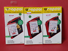 3  Wrapsol Front & Back Ultra Screen Protection UMPAP 010 ~ Free S/H