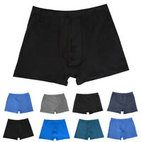 Men's Soft Boxer Briefs Breathable Underpants Soft Shorts Knickers Underwear HOT
