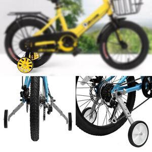 18-22'' Kids Mountain Bike Training Wheels Bicycle Stabilisers Auxiliary Wheels