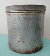 Vintage Pacific Dairies Metal Ice Cream Container Gsw