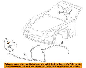 Cadillac GM OEM 04-09 XLR Washer-Headlight Head Light-Cover Left 12335889
