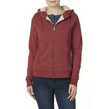 Wolverine Women's Willow Sherpa Lined Hoodie Jacket Red # pick Small or Medium
