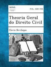 Theoria Geral Do Direito Civil (Paperback or Softback)