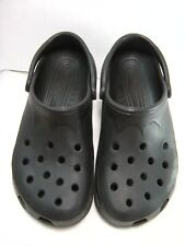 CROCS Rubber Shoes / Clogs Womens Size 12 / 14 Mens Size 10 / 11 Black #Y