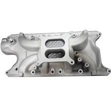 For Ford Small Block 289 302 Windsor Polished Air Gap Aluminum Intake Manifold