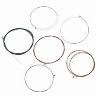 1 Set Colourful Guitar String for Electric Guitar Parts Replacement Nickel Alloy