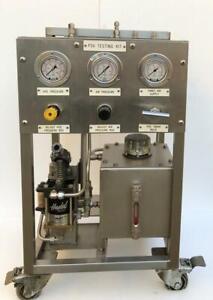 CONTROLS & ELECTRICS PRESSURE SAFETY VALVE PSV TESTING PUMP HASKEL MSHP-71