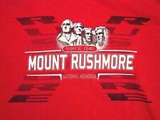 Mount Rushmore National Memorial Vacation Souvenir Red T Shirt M
