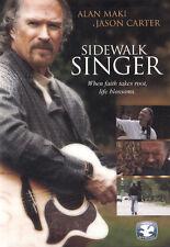NEW Sealed Christian Drama DVD! Sidewalk Singer (Alan Maki, Jason Carter)